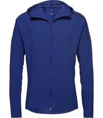 z.n.e. jacket m outerwear sport jackets blå adidas performance