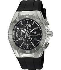 reloj technomarine tm-1150ka negro silicona