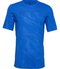 tky camo tee t-shirts short-sleeved blå adidas performance