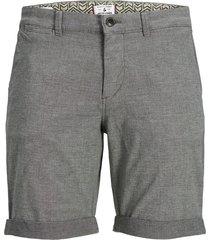 jack & jones kenso 12183665 chino short korte broek silver birch -
