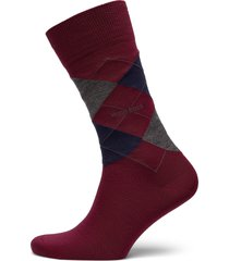 john rs argyle wo underwear socks regular socks röd boss