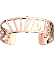 les georgettes by altesse rectangular openwork thin adjustable cuff perroquet bracelet, 14mm, 0.5in