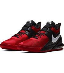 9-zapatillas de hombre nike nike air max impact-rojo
