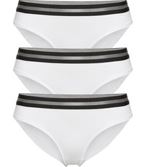 organic cotton bikini briefs by pernille blume 3 pack trosa brief tanga vit danish endurance