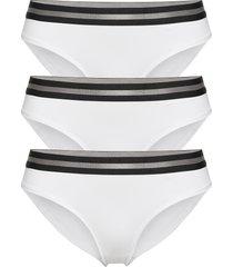 organic cotton bikini briefs by pernille blume 3 pack trosa brief tanga vit danish endurance