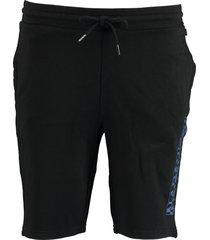 napapijri korte broek bermuda zwart np0a4e1n/041