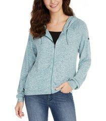 roxy juniors' like a dream zip-front hoodie