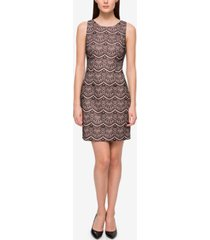 guess lace sheath dress