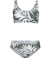 bikini a bustier (set 2 pezzi) (verde) - bpc bonprix collection
