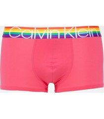 calvin klein underwear low rise trunk boxershorts rosa