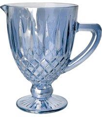 jarra bon gourmet de vidro greek azul - azul - dafiti