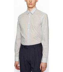 boss men's slim-fit awatti shirt