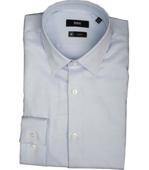 hugo boss overhemd isko lichtblauw sf 50410072/450