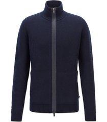 boss men's badolfo double-faced wool jacket