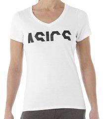 t-shirt korte mouw asics -
