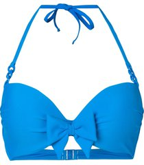 marlies dekkers papillon push-up bikini top - blue