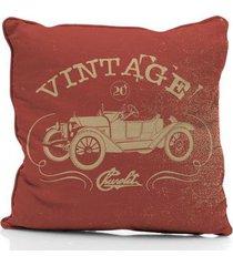 capa de almofada em poliéster vintage car jalopy chevrolet