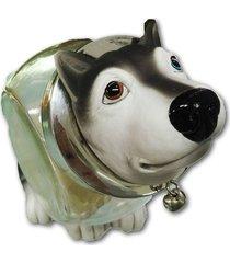 mini baleiro cachorro husky siberiano