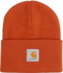 carhartt hat logo hats in orange acrylic