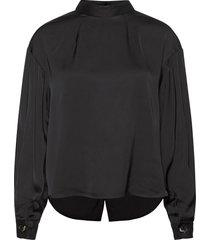 emmy blouse blus långärmad svart designers, remix