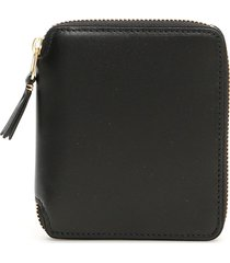 color block wallet