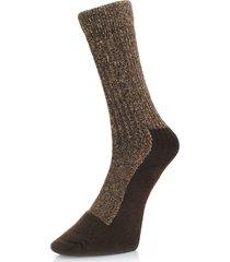 red wing deep toe capped wool brown socks 97173