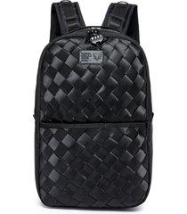 bolsa cavalera preta escolar mochila feminina matelassê original