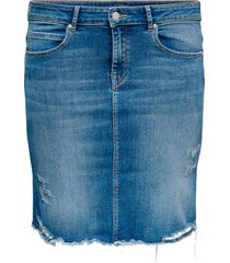 jeanskjol carvera lifeknee denim skirt