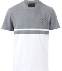 mens panel stripe t-shirt