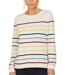 barbour ramble striped cotton sweater
