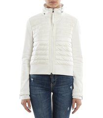 moncler - quilted front sweatshirt