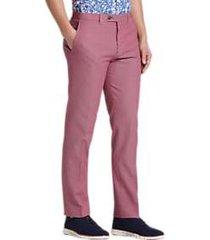 paisley & gray slim fit suit separates pants pink seersucker stripe