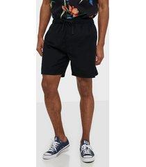 levis walk short shorts black