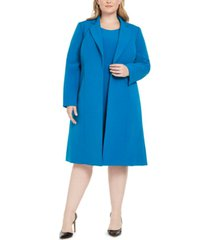 le suit plus size longline jacket & dress suit
