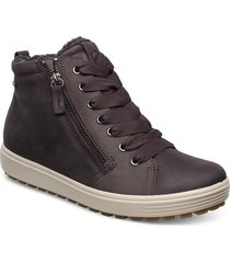 soft 7 tred w shoes boots ankle boots ankle boot - flat brun ecco