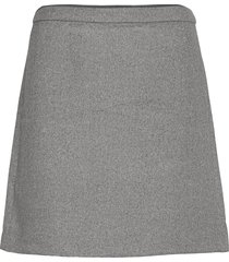 skirts woven kort kjol grå esprit collection