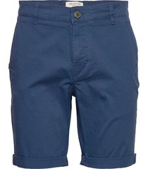 slhstraight-paris shorts w noos shorts chinos shorts blå selected homme