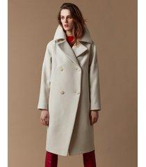 płaszcz kimo wełniany