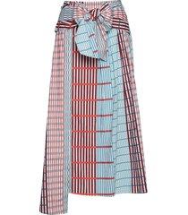 ilsaiw skirt knälång kjol multi/mönstrad inwear