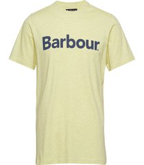 barbour ardfern tee t-shirts short-sleeved gul barbour