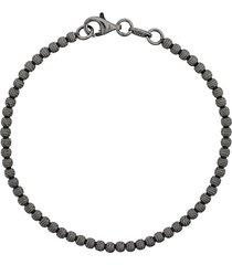 carolina bucci 18kt black gold disco ball bracelet