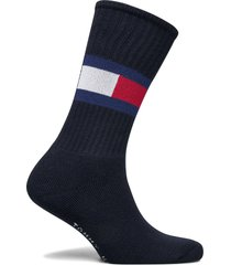 th flag 1p underwear socks regular socks blå tommy hilfiger