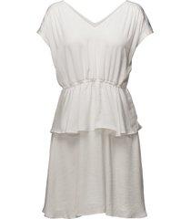 field dress kort klänning vit modström