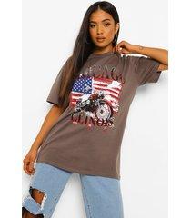 petite chicago t-shirt, charcoal
