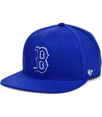 '47 brand boston red sox colors no shot captain cap