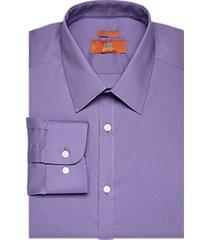 egara orange purple extreme slim fit dress shirt