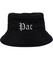 chapéu bucket skull clothing pac - unissex