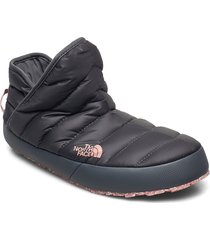 w tb traction bootie slippers tofflor grå the north face