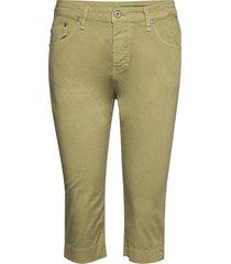 capri cotton trousers capri trousers groen please jeans
