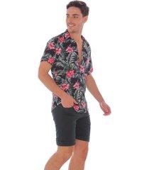 camisa tropical para hombre 100174-01